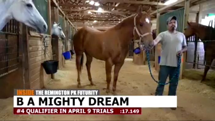 B A Mighty Dream Runs in Remington Park Futurity
